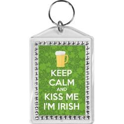 Kiss Me I'm Irish Bling Keychain (Personalized)