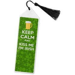 Kiss Me I'm Irish Book Mark w/Tassel (Personalized)