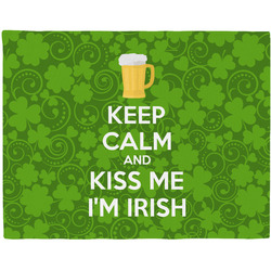 Kiss Me I'm Irish Placemat (Fabric) (Personalized)