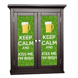 Kiss Me I'm Irish Cabinet Decal - Custom Size (Personalized)