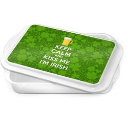 Kiss Me I'm Irish Cake Pan (Personalized)