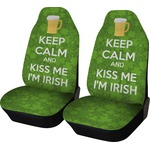 Kiss Me I'm Irish Car Seat Covers (Set of Two) (Personalized)