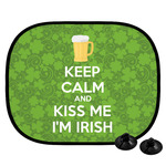 Kiss Me I'm Irish Car Side Window Sun Shade (Personalized)