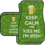 Kiss Me I'm Irish Car Floor Mats (Personalized)