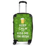 Kiss Me I'm Irish Suitcase (Personalized)