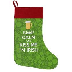 Kiss Me I'm Irish Holiday Stocking