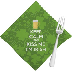 Kiss Me I'm Irish Napkins (Set of 4) (Personalized)