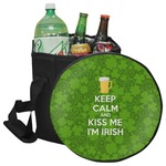 Kiss Me I'm Irish Collapsible Cooler & Seat (Personalized)