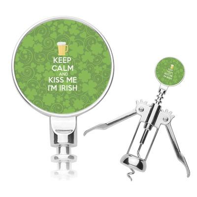 Kiss Me I'm Irish Corkscrew (Personalized)
