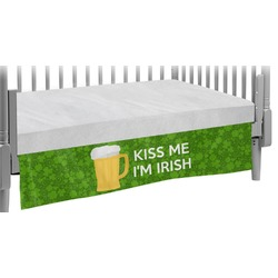 Kiss Me I'm Irish Crib Skirt (Personalized)