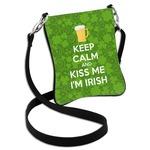 Kiss Me I'm Irish Cross Body Bag - 2 Sizes (Personalized)