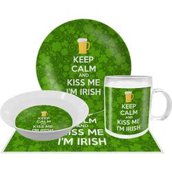 Kiss Me I'm Irish Dinner Set - Single 4 Pc Setting