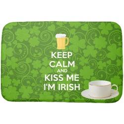 Kiss Me I'm Irish Dish Drying Mat (Personalized)