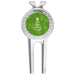 Kiss Me I'm Irish Golf Divot Tool & Ball Marker (Personalized)