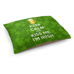 Kiss Me I'm Irish Dog Bed (Personalized)
