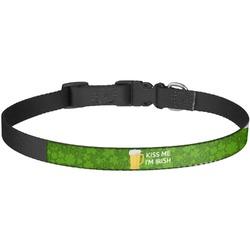 Kiss Me I'm Irish Dog Collar - Large (Personalized)