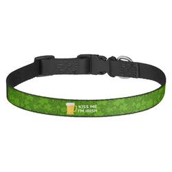 Kiss Me I'm Irish Dog Collar (Personalized)