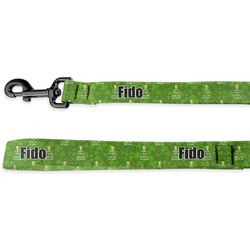 Kiss Me I'm Irish Deluxe Dog Leash (Personalized)