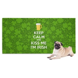 Kiss Me I'm Irish Pet Towel (Personalized)