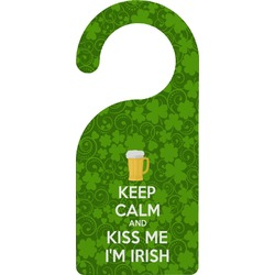 Kiss Me I'm Irish Door Hanger (Personalized)