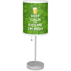 "Kiss Me I'm Irish 7"" Drum Lamp with Shade (Personalized)"