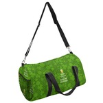 Kiss Me I'm Irish Duffel Bag (Personalized)