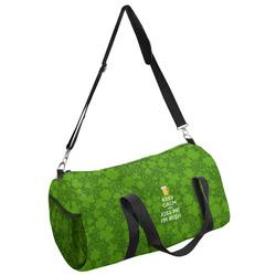 Kiss Me I'm Irish Duffel Bag - Multiple Sizes (Personalized)