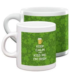 Kiss Me I'm Irish Espresso Cups (Personalized)
