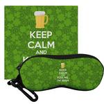 Kiss Me I'm Irish Eyeglass Case & Cloth (Personalized)