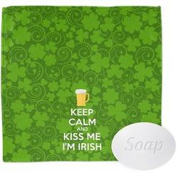 Kiss Me I'm Irish Wash Cloth (Personalized)