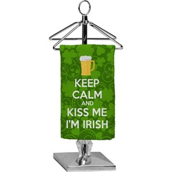 Kiss Me I'm Irish Finger Tip Towel - Full Print (Personalized)