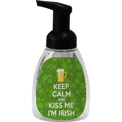 Kiss Me I'm Irish Foam Soap Dispenser (Personalized)