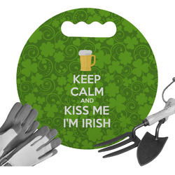 Kiss Me I'm Irish Gardening Knee Cushion (Personalized)