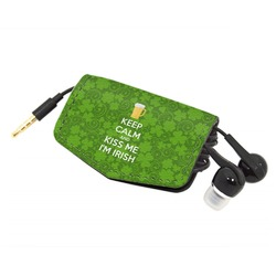 Kiss Me I'm Irish Genuine Leather Cord Wrap (Personalized)