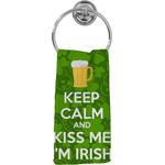Kiss Me I'm Irish Hand Towel - Full Print (Personalized)
