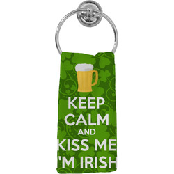 Kiss Me I'm Irish Hand Towel - Full Print (Personalized)