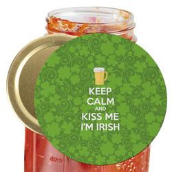 Kiss Me I'm Irish Jar Opener (Personalized)