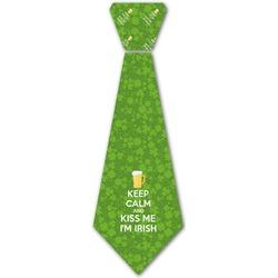Kiss Me I'm Irish Iron On Tie (Personalized)
