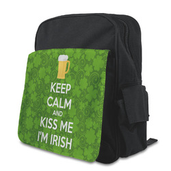 Kiss Me I'm Irish Preschool Backpack