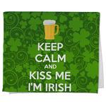Kiss Me I'm Irish Kitchen Towel - Full Print (Personalized)