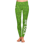 Kiss Me I'm Irish Ladies Leggings (Personalized)