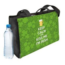 Kiss Me I'm Irish Ladies Workout Bag (Personalized)