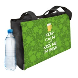 Kiss Me I'm Irish Ladies Workout Bag (Personalized)