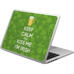 Kiss Me I'm Irish Laptop Skin - Custom Sized (Personalized)
