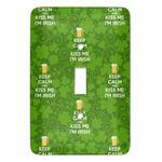 Kiss Me I'm Irish Light Switch Covers (Personalized)