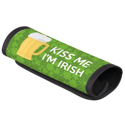 Kiss Me I'm Irish Luggage Handle Cover (Personalized)