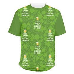 Kiss Me I'm Irish Men's Crew T-Shirt (Personalized)