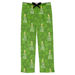 Kiss Me I'm Irish Mens Pajama Pants (Personalized)