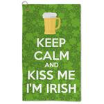 Kiss Me I'm Irish Microfiber Golf Towel - Large