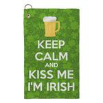 Kiss Me I'm Irish Microfiber Golf Towel - Small